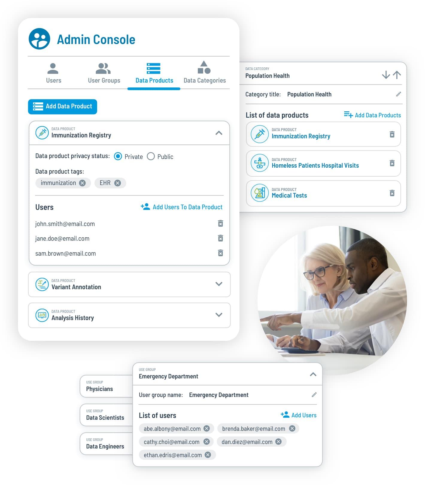 tag.bio healthcare data management